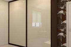 Шкафы-купе со стеклом Лакобель