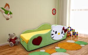 Беби-Котенок кровать детская правый