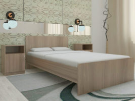 Кровать Ксения 1200*2000 б/м